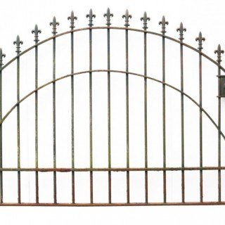 A Reclaimed Wrought Iron Park Gate