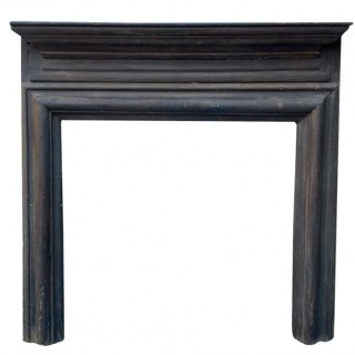 A George II Timber Fire Surround