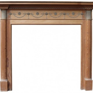 A Reclaimed Georgian Neoclassical Style Fire Surround