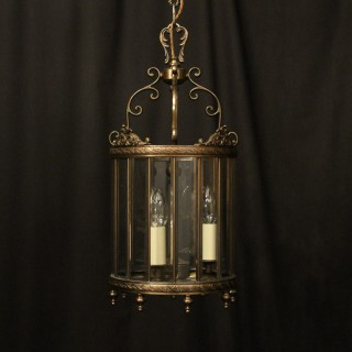 Italian Convex Triple Light Hall lantern
