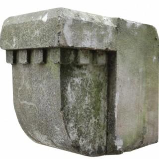 A Set of 10 Antique Limestone Corbels